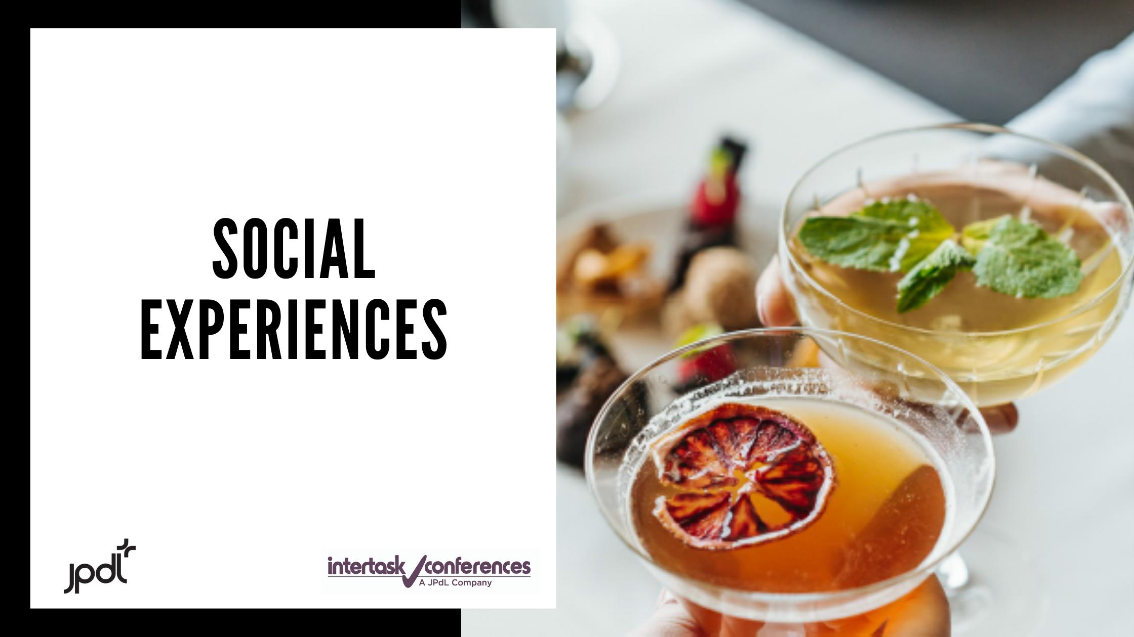 Discover Our Social Experiences !